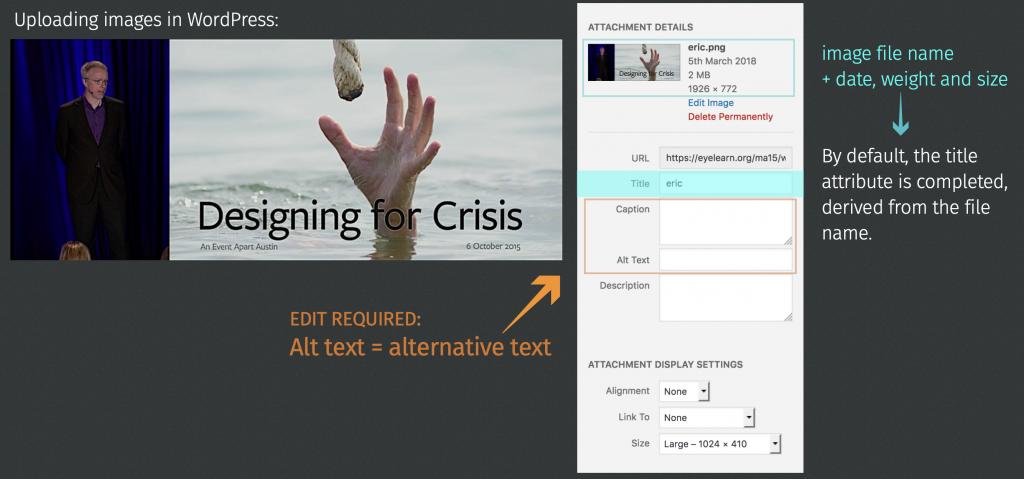 admin screenshot of uploaded image