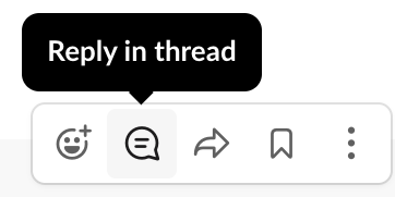 threaded reply screenshot of popup